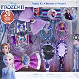 Townley Girl Disney Frozen 2 Hair Accessory Kit for Girls, Ages 3 and Up (10 Pieces)
