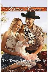 The Texas Ranger's Family (Lone Star Lawmen Book 3) Kindle Edition