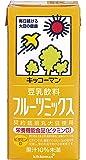 キッコーマン飲料 豆乳飲料 フルーツミックス 1L×6本