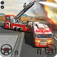 消防車 自動車学校 シミュレータ2018 911緊急救助 ゲーム 無料