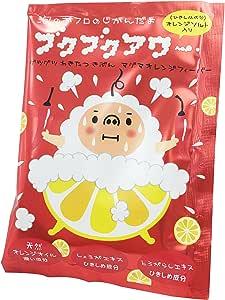ブクブクアワー マグマ オレンジ フィーバー 入浴剤 40g 1回分