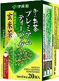 伊藤園 おーいお茶 プレミアムティーバッグ 宇治抹茶入り玄米茶 2.3g ×20袋