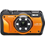 Ricoh WG-6 Orange Waterproof Camera 20MP Higher Resolution Images 3-Inch LCD Waterproof 20m Shockproof 2.1m Underwater Mode 6