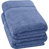 Utopia Towels - Soft Cotton Extra Large Bath Towel 35 x 70 inches Bath Sheet (Wedgewood, 2)