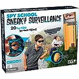 SmartLab Toys SL308685 Spy School Sneaky Surveillance -11 Pieces - Includes in-World Book