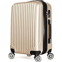 [BAGING] バギング YKKファスナー使用 スーツケース キャリーケース 8輪キャスター TSAロック 拡張式 L…