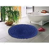 Sheen Decor Crochet Reversible Bath Mat, 100% Pure Cotton Luxurious Feel Bathroom Mat/Rug, Extra Absorbent & Soft Perfect Plu