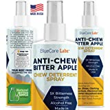 Bitter Apple Spray for Dogs Anti Chew Bitter Deterrent Spray for Dogs & Puppies Cats & Kittens - Training Treatment & Powerfu