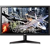 LG UltraGear 24GL600F-B 24 Inch Full HD Gaming Monitor with Radeon FreeSync Technology, 144Hz Refresh Rate, 1ms Response Time