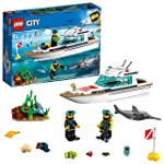 LEGO City Diving Yacht 60221 Building Toy