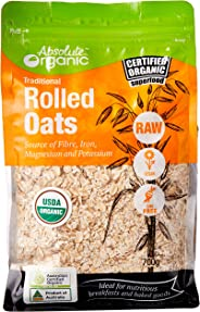 Absolute Organic Traditional Rolled Oats, 700 g