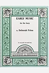 EARLY MUSIC FOR THE HARP Spiral-bound