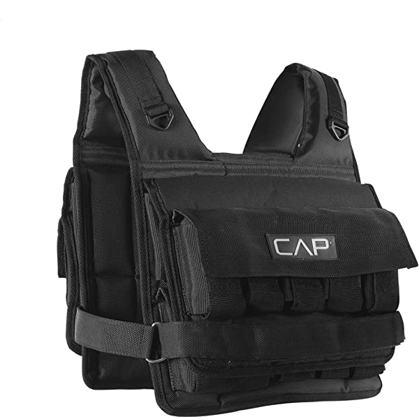 Runmax Rf20nop Run Fast 12lb-140lb Weighted Vest Without Shoulder Pads 20lbblack for sale online
