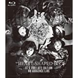 【Amazon.co.jp限定】HEART-SHAPED BiS IT'S TOO LATE EDiTiON NO AUDiENCE LiVE (特典:メガジャケ付) [Blu-ray]