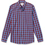 Goodthreads Men's Slim-Fit Long-Sleeve Gingham Plaid Poplin Shirt