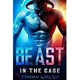 Beast in the Cage: A Scifi Alien Romance (Fated Mates of Breeder Prison Book 1)