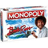Monopoly Bob Ross | Based on Bob Ross Show The Joy of Painting | Collectible Monopoly Game Featuring Bob Ross Artwork | Offic