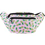 SoJourner Bum Bag Fanny Pack Waist Bag Pineapple | for women, men and kids | cute fits small medium large