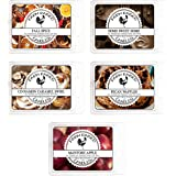 Fall Spice Variety Assorted Mix 5 Pack.100% All Natural American Farm Raised Made Paraffin-Free Pure Soy Scented Wax Melts. S