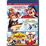 An American Tail / Balto / An American Tail: Fievel Goes West Triple Feature Film Set [DVD]