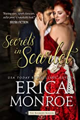 Secrets in Scarlet: Dark, Gritty Historical Romantic Suspense (The Rookery Rogues Book 2) Kindle Edition