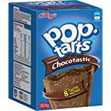 Pop Tarts Kellogg's Pop Tarts Chocotastic 384 g, 8 Count, Chocolatey