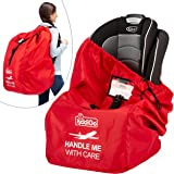 Car Seat Travel Carrier Bag Cover Airplane Gate Check Backpack for Traveling, Airport Safety Deluxe, Big, Waterproof Safety W