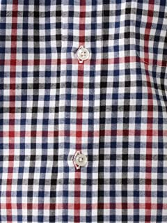 Viyella Check Buttondown Shirt 5811-699-0106: Red