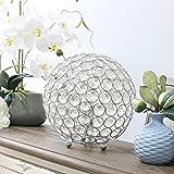 Elegant Designs LT1026-CHR Crystal Ball Table Lamp by Elegant Designs