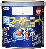 アサヒペン ペンキ 水性スーパーコート 水性多用途 ツヤ消し白 0.7L