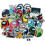 100 Among Us Stickers Crewmate Game Stickers for Skateboard Laptop Luggage Waterbottle