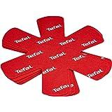 Tefal K2203004 Ingenio Cookware Protectors 4 Piece Set, Red
