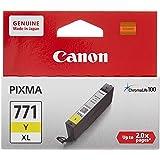 Canon CLI-771 Y XL BJ Cartridge CLI, Yellow, XL