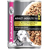 Eukanuba Dog Fod Can Adult Chicken, Rice & Veg 375g High Protein Preomium Pet