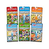 Melissa & Doug On The Go Water Wow! Activity Pad 6-Pack