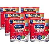 Enfagrow Premium Toddler Nutritional Milk Drink, Natural Milk Flavor Powder, 32 oz. Can (Pack of 6)