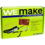 WEmake FM Radio DIY Soldering Kit with Tools | Soldering Iron | Side Cutters | Safety Glasses | Lead Free Solder | Great Stem