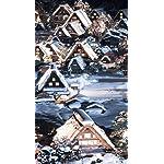世界遺産 iPhoneSE/5s/5c/5(640×1136)壁紙 白川郷