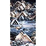 世界遺産 XFVGA(480×854)壁紙 白川郷