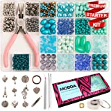 Jewelry Making Kit - Beading Starter Kits for Adults, Teens, Girls. Includes All Needed Jewellery Making Supplies, Beads and