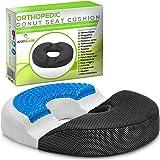 Donut Pillow Tailbone Hemorrhoid Seat Cushion - Memory Foam Butt Pillow Relief Postpartum, Prostate, Coccyx Pain, Sciatica, H