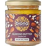 Biona Organic Almond Butter - Crunchy, 170 g