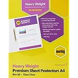 MARBIG(R) 25100S Sheet Protector, A4 H,Duty Ultra Clear PK50