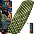 Sleepingo Camping Sleeping Pad - Mat, (Large), Ultralight 14.5 OZ, Best Sleeping Pads for Backpacking, Hiking Air Mattress -