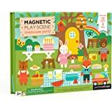 Petit Collage Magnetic Scene, Animal Friends