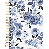 Graphique Hardbound Journal, Caitlin Wilson Floral Design – 160 Ruled Pages, Take Notes Quote Embellished in Gold Foil on The