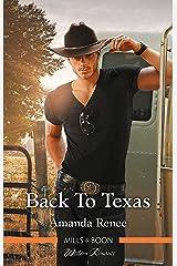 Back To Texas (Welcome to Ramblewood Book 5) Kindle Edition