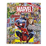 Marvel - Avengers, Guardians of the Galaxy, and Spider-man Look and Find Activity Book - Characters from Avengers Endgame Inc