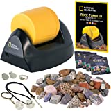 NATIONAL GEOGRAPHIC Starter Rock Tumbler Kit - Rock Polisher for Kids and Adults, Complete Rock Tumbler Kit, Durable Leak-Pro