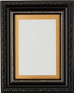 FUJICOLOR 額縁 肖像額 L / ハガキ 木製 ゴールド 406560